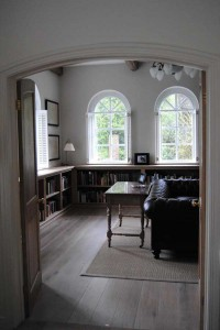 Bespoke Fitted Bookcases by Surrey cabinet makers Aidan McEvoy Fine Furniture