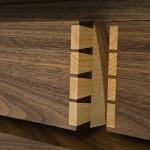 Bespoke Sideboard - Dovetail Detail