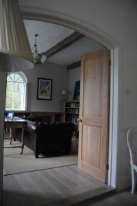 Arched Oak Doors