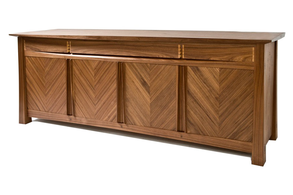 Walnut Sideboard - front view