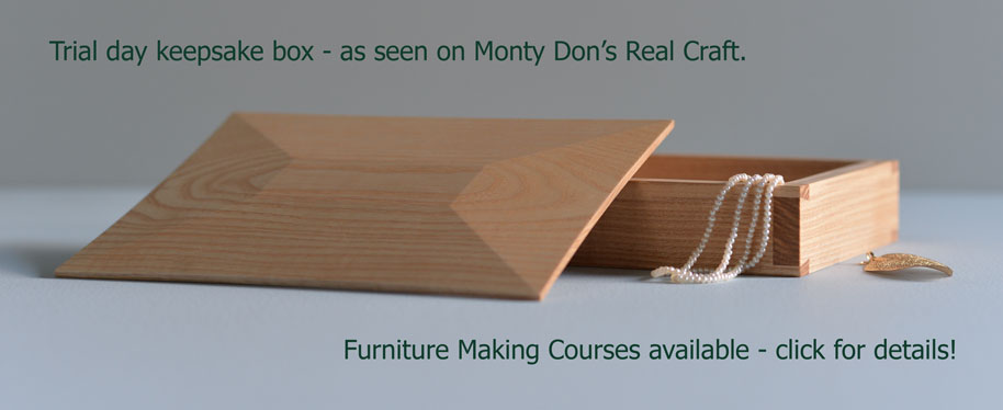 Trial day Keepsake Box as featured on Monty Dons's Real Craft