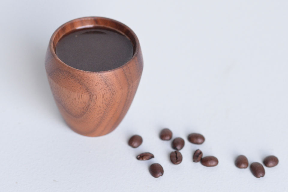 Walnut Espresso Cup - Full