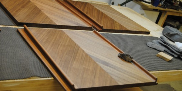 Finishing a Bespoke Sideboard with Osmo Oil