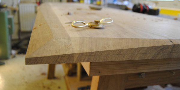 The Final Stages of a Bespoke Wooden Sideboard