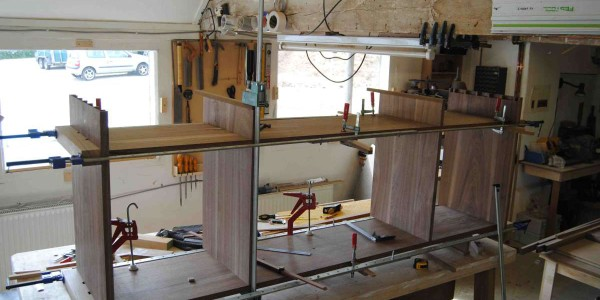 Walnut Sideboard - Making the Sideboard Carcass