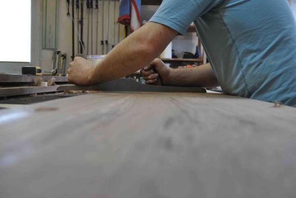 Hand planing panels