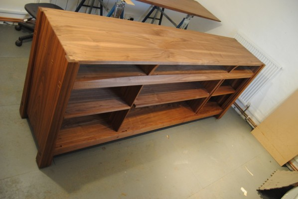 Sideboard carcass oiled up with osmo polyx oil