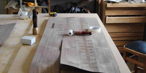 Walnut Sideboard - Veneered Panels