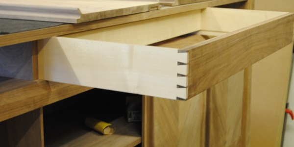Fitting Drawers to a Handmade Sideboard
