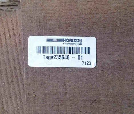 Sourcing timber - plank pack, log and board number