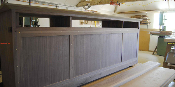 Walnut Sideboard - Top, Back and Sides