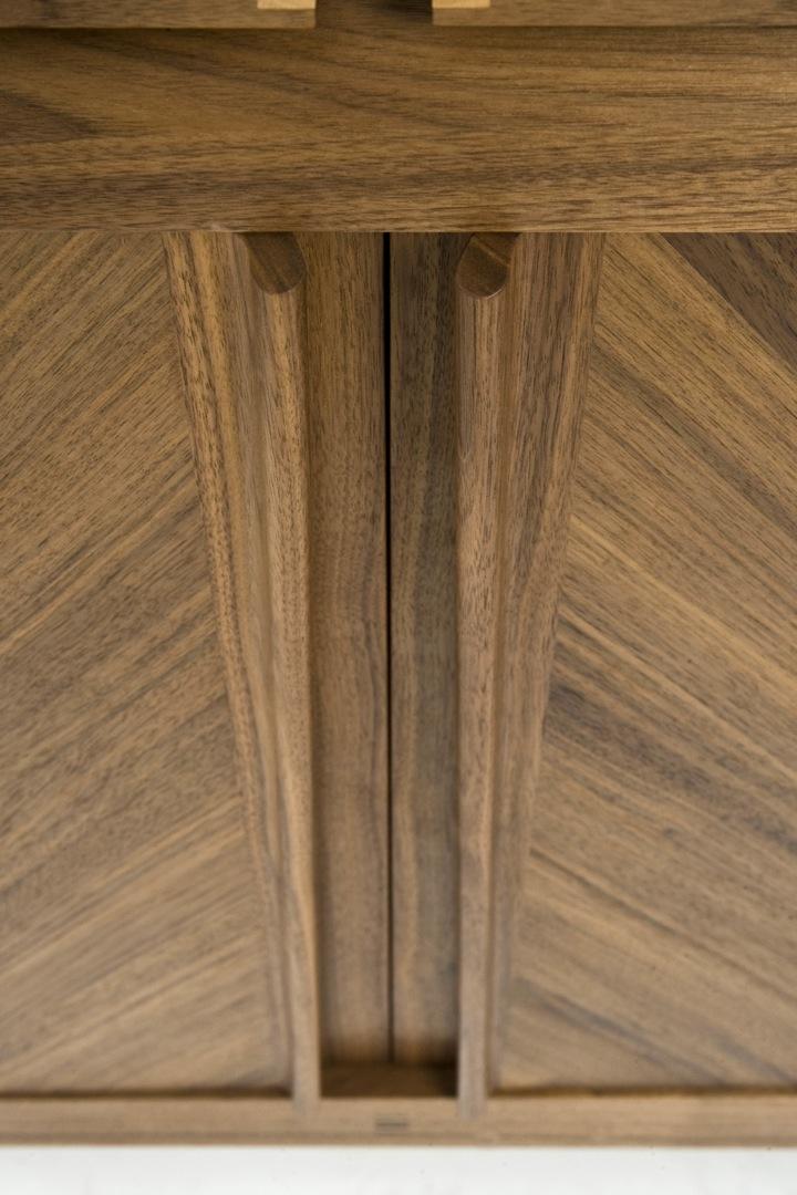 Bespoke Furniture Making Blog Walnut Sideboard Finished