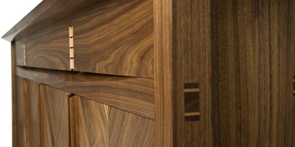 The Finished Walnut Sideboard - A Bespoke Creation