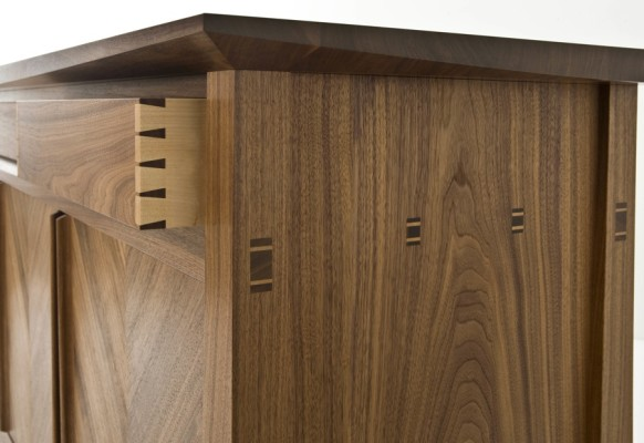 Bespoke Sideboard - End View
