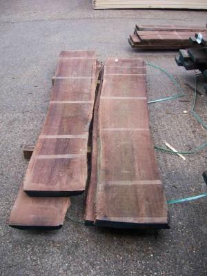 52mm Walnut timber planks