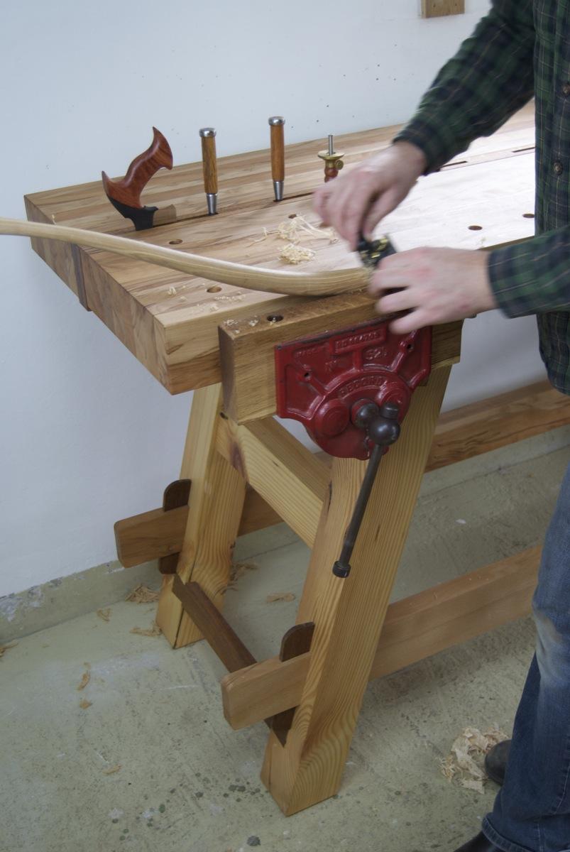 moroubo woodworking bench - aidan mcevoy fine furniture