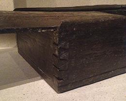 dovetailed box from Vasa