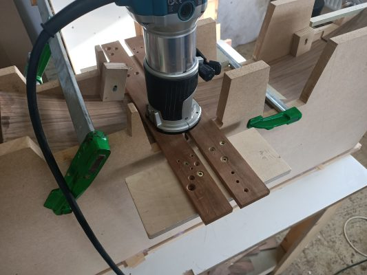 Routing Housing into Curved Sides