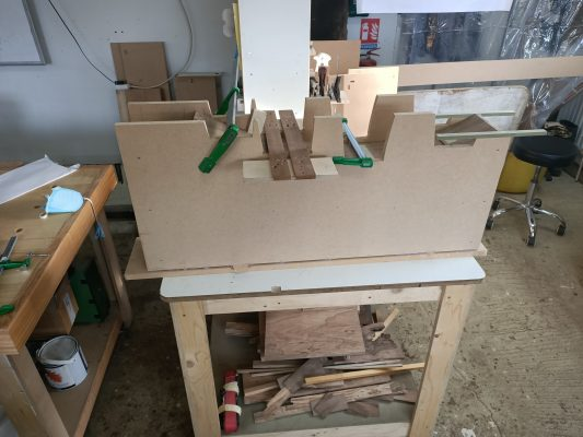 Routing Jig for Curved Sides